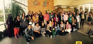 Development Consortium HCI Across Borders at SIGCHI 2016 visiting GOOGLE